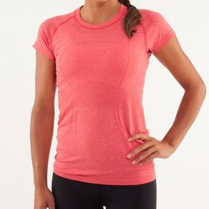 Lululemon Swiftly Tech Crew Top Currant